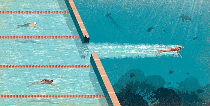 30 ilustrações digitais instigantes que expõem as falhas de nossa sociedade moderna 16
