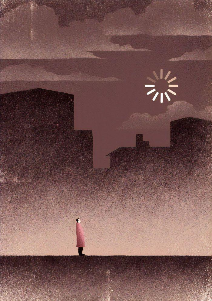 30 ilustrações digitais instigantes que expõem as falhas de nossa sociedade moderna 28