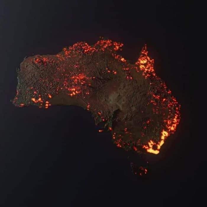 36 imagens que mostram os horrores dos incêndios na Austrália 4