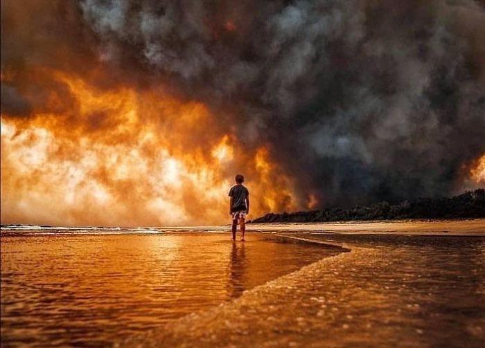 36 imagens que mostram os horrores dos incêndios na Austrália 8