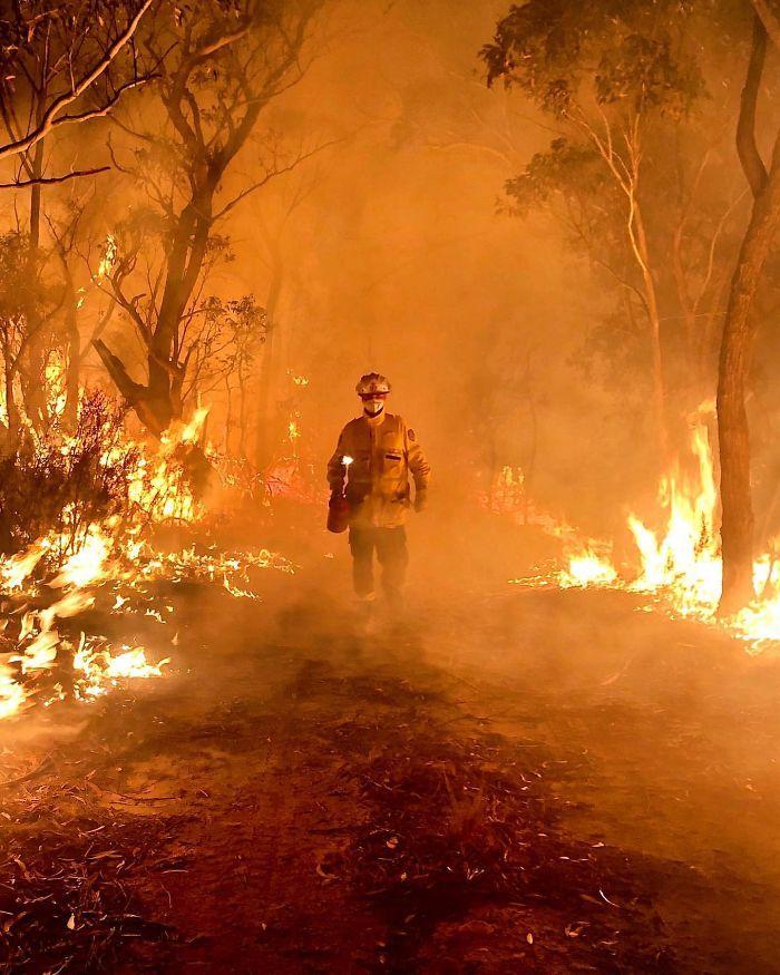 36 imagens que mostram os horrores dos incêndios na Austrália 26