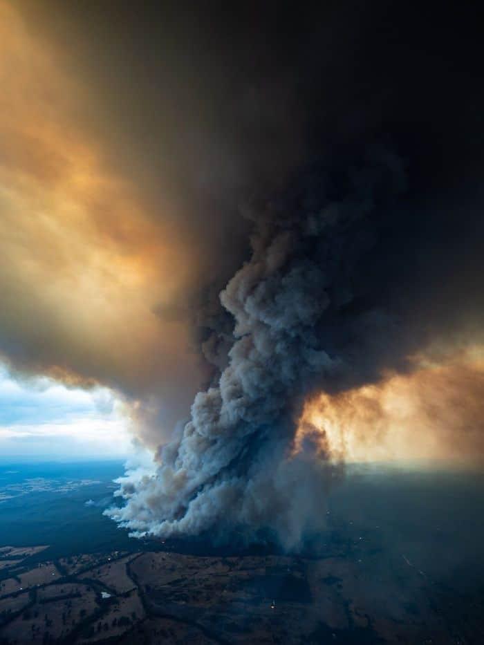 36 imagens que mostram os horrores dos incêndios na Austrália 32