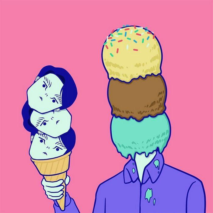 32 quadrinhos estranhamente engraçados que mostram o que aconteceria se o karma fosse real 2