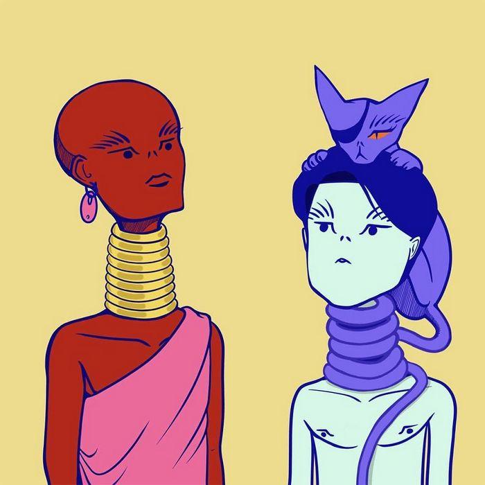 32 quadrinhos estranhamente engraçados que mostram o que aconteceria se o karma fosse real 9