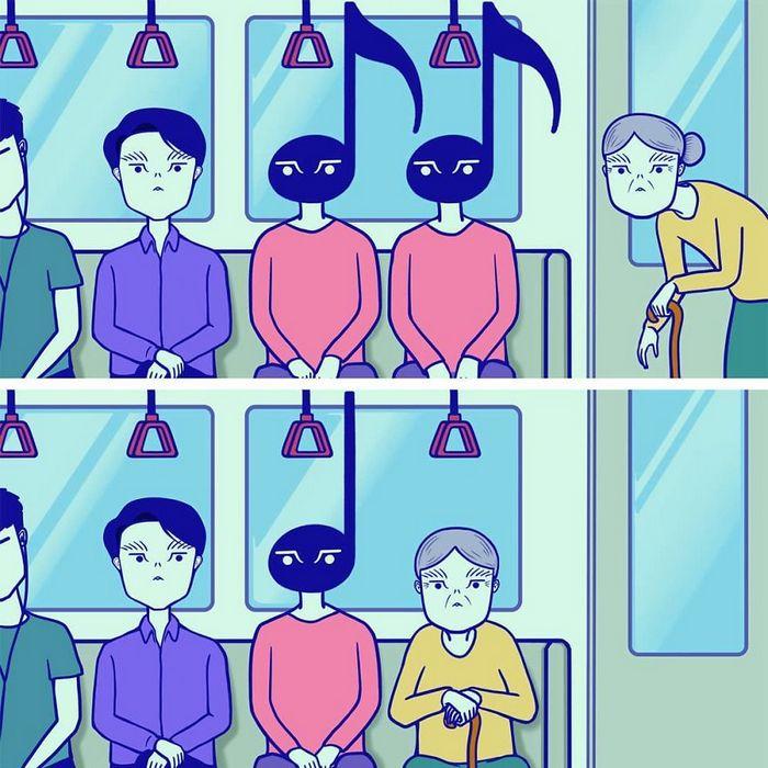 32 quadrinhos estranhamente engraçados que mostram o que aconteceria se o karma fosse real 17