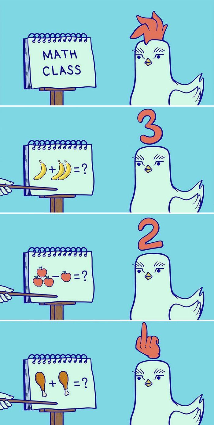 32 quadrinhos estranhamente engraçados que mostram o que aconteceria se o karma fosse real 27