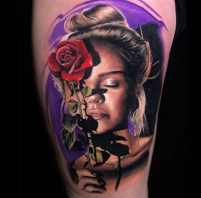 37 tatuagens hiper realistas que quase parecem vivas 4