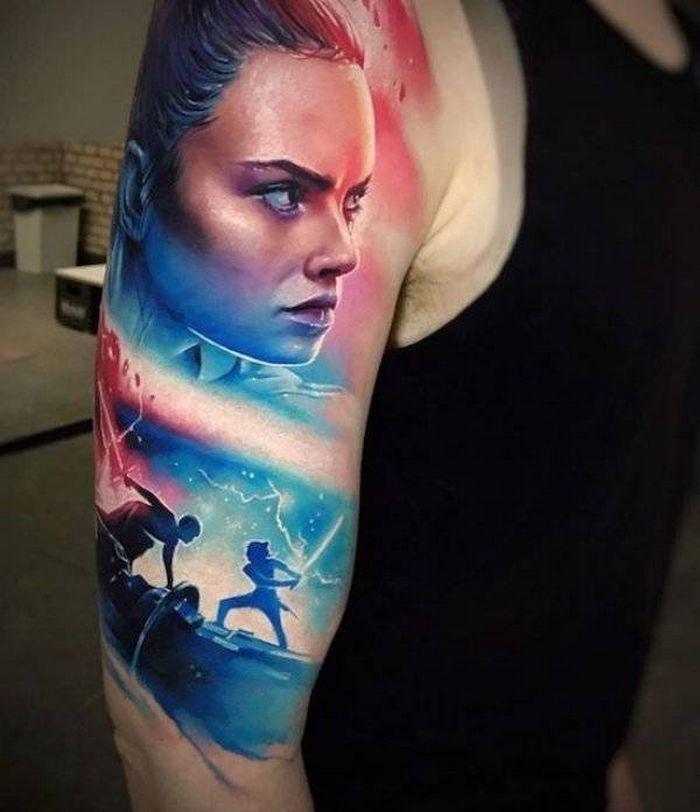 37 tatuagens hiper realistas que quase parecem vivas 19