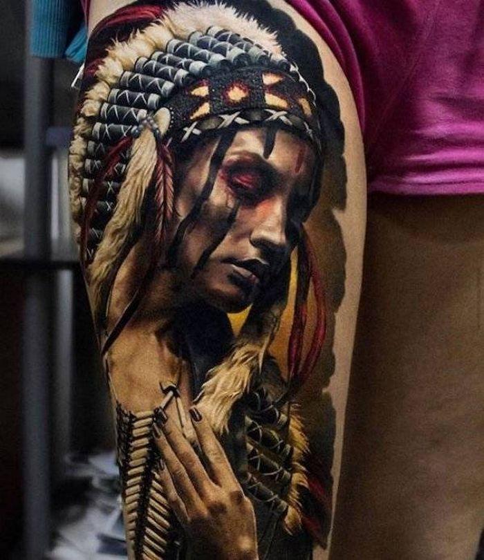 37 tatuagens hiper realistas que quase parecem vivas 22