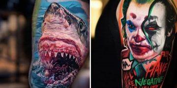 37 tatuagens hiper realistas que quase parecem vivas 8