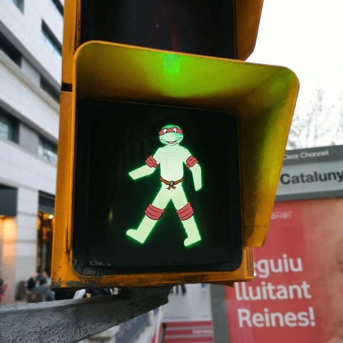 Artista dá vida às ruas simples adicionando personagens divertidos (34 fotos) 27