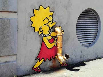 Artista dá vida às ruas simples adicionando personagens divertidos (34 fotos) 2