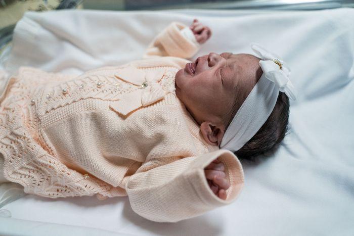 Bebê zangada que viralizou na internet 5