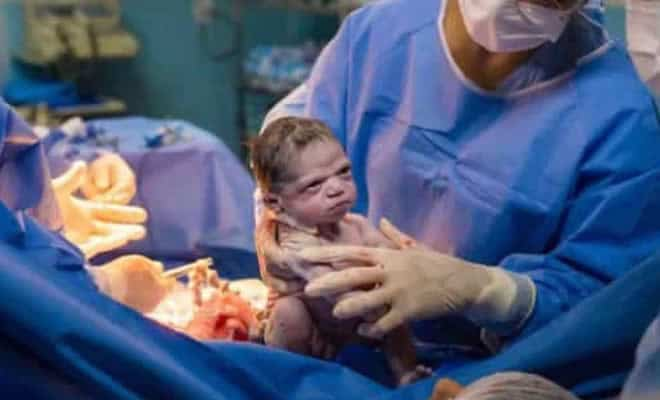 Bebê zangada que viralizou na internet 1