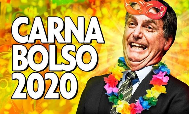 Bolsonaro cantando as marchinhas de carnaval 59
