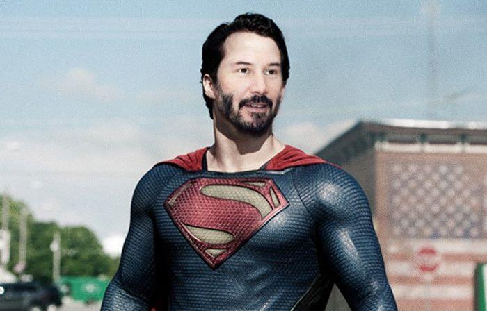 Como seria Keanu Reeves interpretando personagens em outros filmes de super-heróis (20 fotos) 14