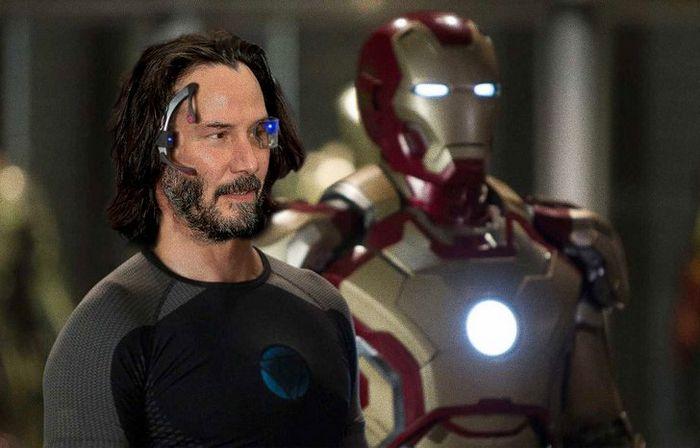 Como seria Keanu Reeves interpretando personagens em outros filmes de super-heróis (20 fotos) 18