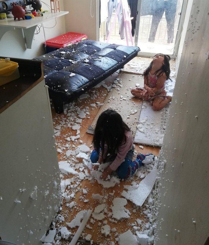 15 histórias com crianças que são capazes de causar verdadeiros acidentes 5