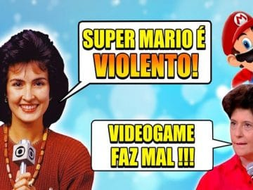 Momentos vergonha alheia: Games na TV! 2