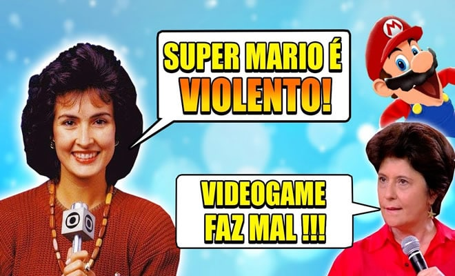 Momentos vergonha alheia: Games na TV! 7