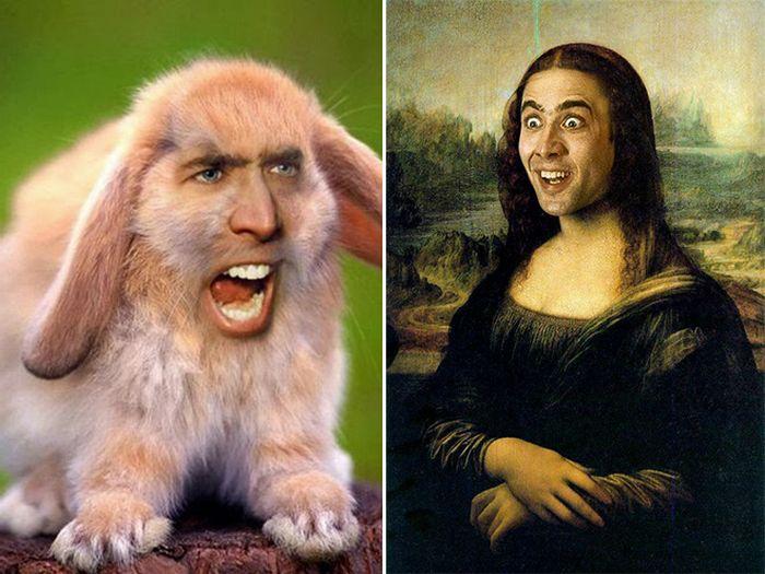 Nicolas Cage em todos os lugares (22 fotos) 13