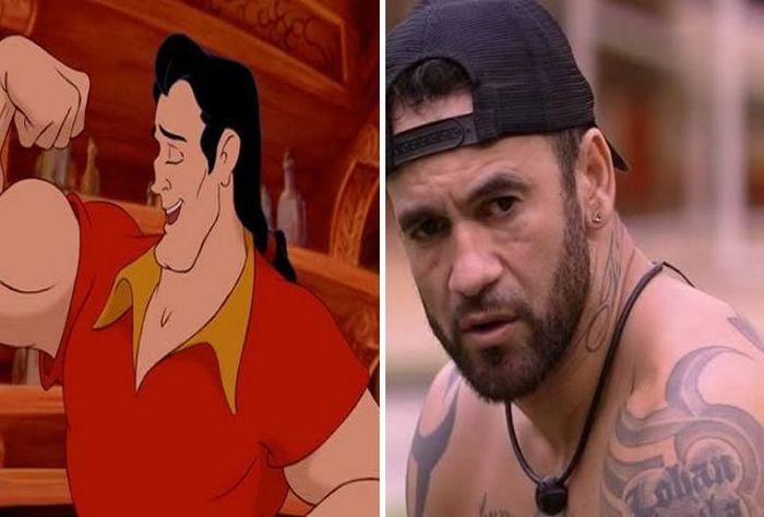 Os membros do Big Brother Brasil 20 são personagens da Disney 7