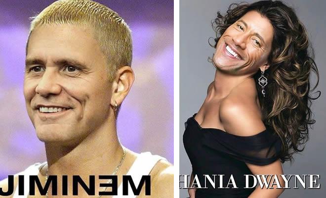 Artista mistura celebridades para confundir você (45 fotos) 19