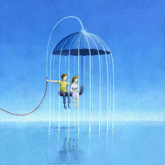 Artista polonês cria 35 metáforas surpreendentemente precisas sobre nossa sociedade moderna 11