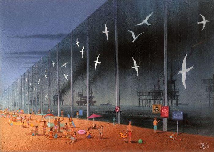 Artista polonês cria 35 metáforas surpreendentemente precisas sobre nossa sociedade moderna 23