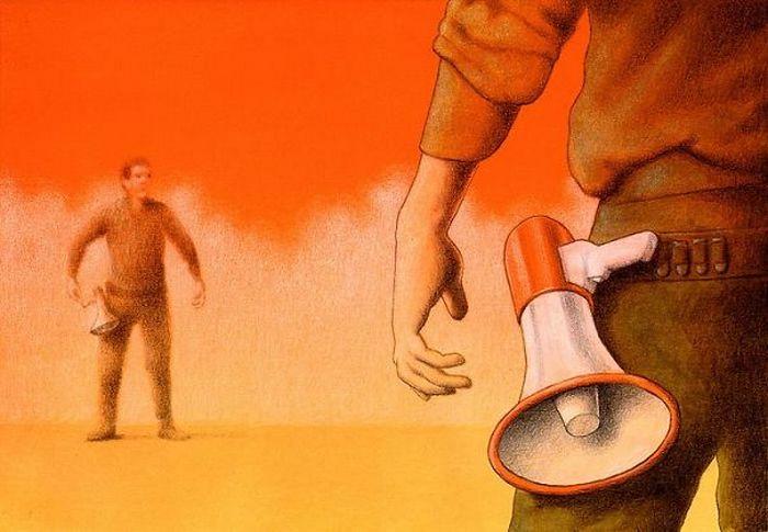 Artista polonês cria 35 metáforas surpreendentemente precisas sobre nossa sociedade moderna 31