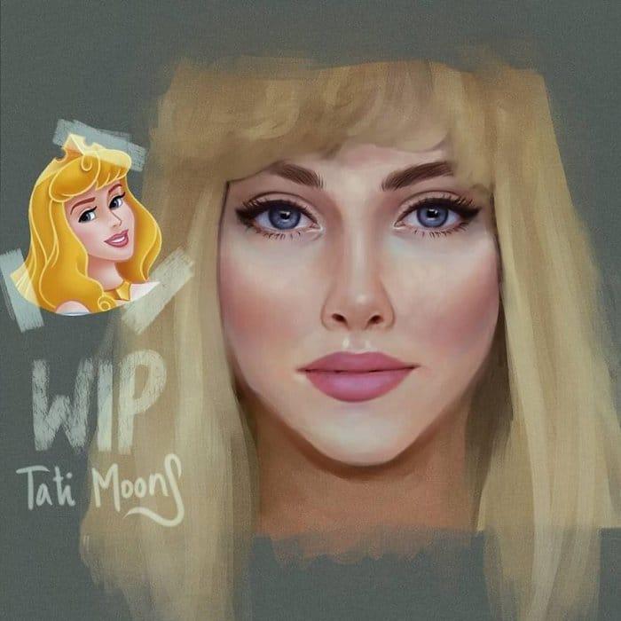 Artista transforma personagens de desenho em imagens de pessoas que parecem reais (24 fotos) 2