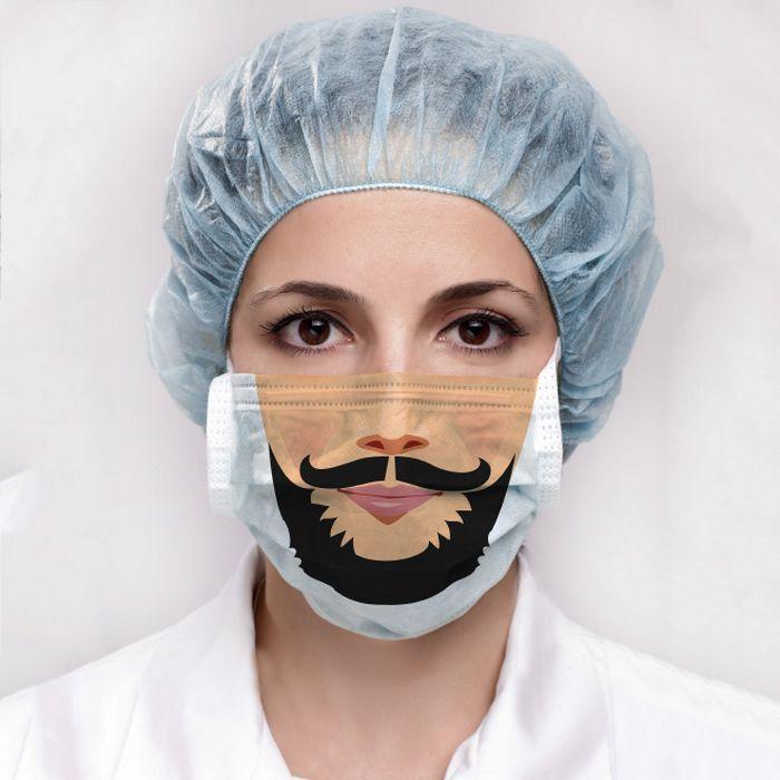 Bem a tempo do surto de coronavírus: máscaras de proteção incomuns (21 fotos) 4