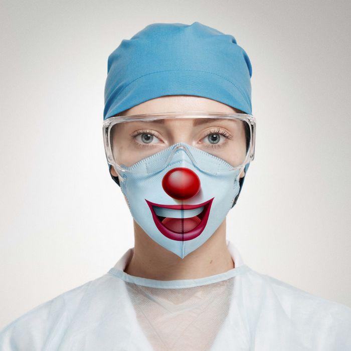 Bem a tempo do surto de coronavírus: máscaras de proteção incomuns (21 fotos) 7