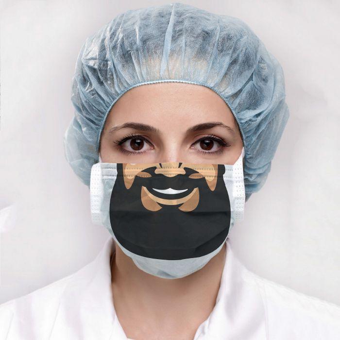 Bem a tempo do surto de coronavírus: máscaras de proteção incomuns (21 fotos) 9