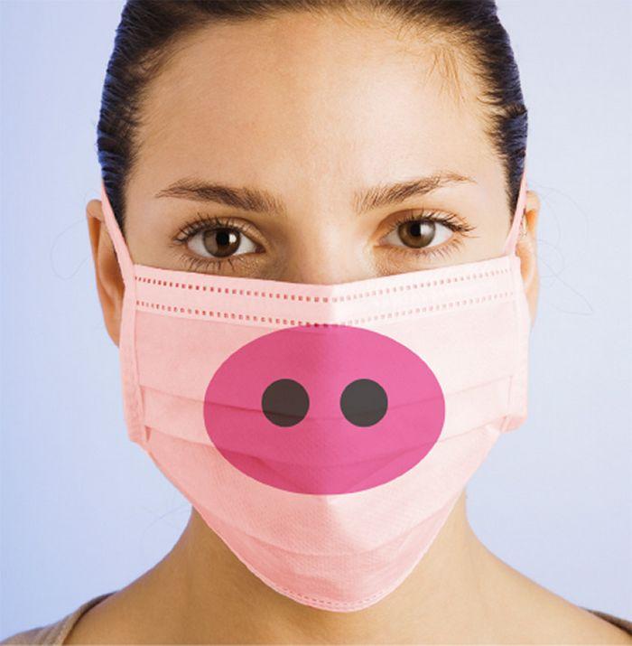 Bem a tempo do surto de coronavírus: máscaras de proteção incomuns (21 fotos) 11