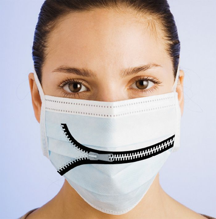 Bem a tempo do surto de coronavírus: máscaras de proteção incomuns (21 fotos) 12