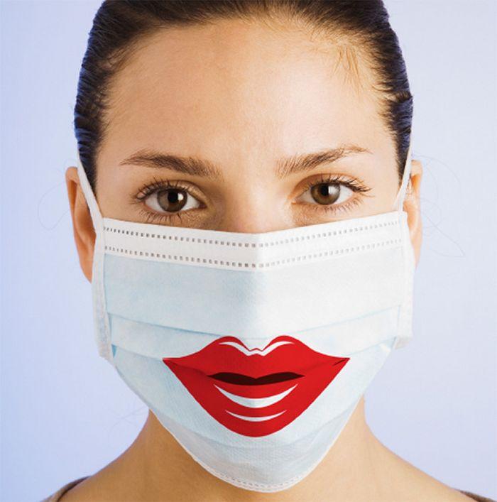Bem a tempo do surto de coronavírus: máscaras de proteção incomuns (21 fotos) 14