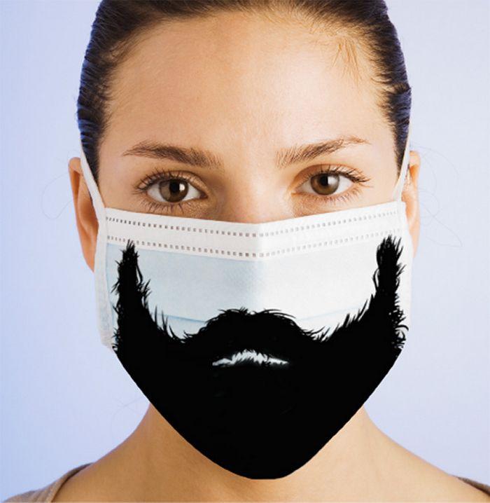 Bem a tempo do surto de coronavírus: máscaras de proteção incomuns (21 fotos) 15