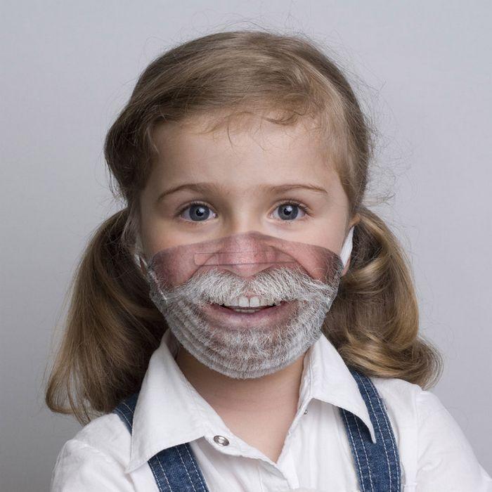 Bem a tempo do surto de coronavírus: máscaras de proteção incomuns (21 fotos) 18