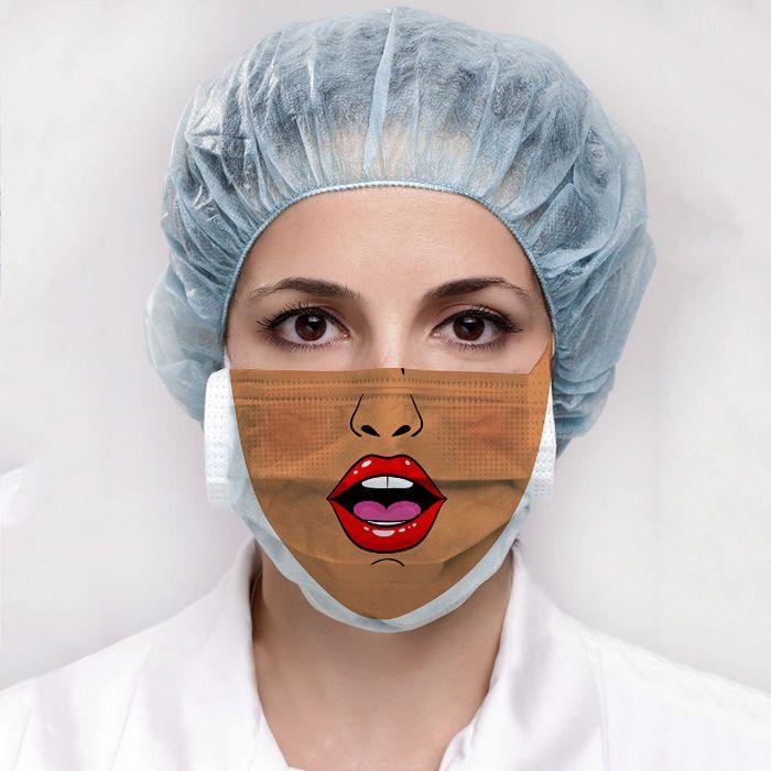 Bem a tempo do surto de coronavírus: máscaras de proteção incomuns (21 fotos) 19