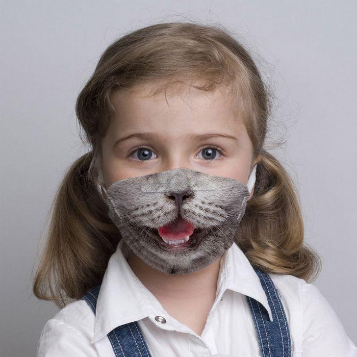 Bem a tempo do surto de coronavírus: máscaras de proteção incomuns (21 fotos) 21