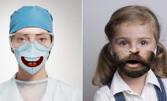 Bem a tempo do surto de coronavírus: máscaras de proteção incomuns (21 fotos) 1