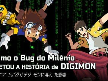 Como o bug do milênio afetou a história de Digimon? 3
