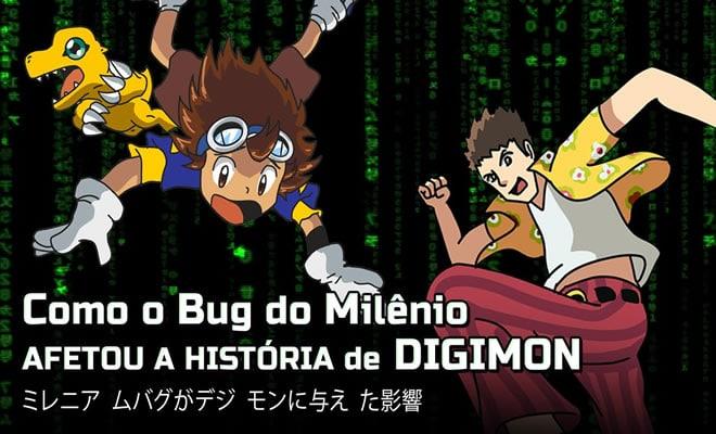 Como o bug do milênio afetou a história de Digimon? 20