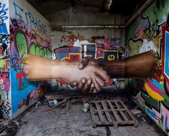21 fotos de magníficas obras de arte de rua que mereciam ser fotografadas 3