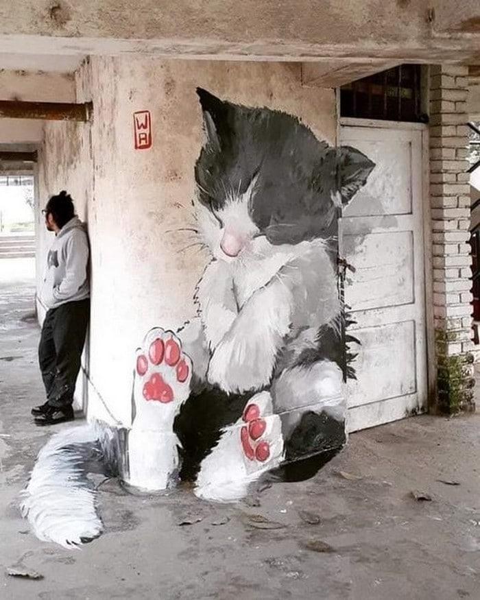 21 fotos de magníficas obras de arte de rua que mereciam ser fotografadas 5