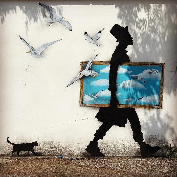 21 fotos de magníficas obras de arte de rua que mereciam ser fotografadas 10