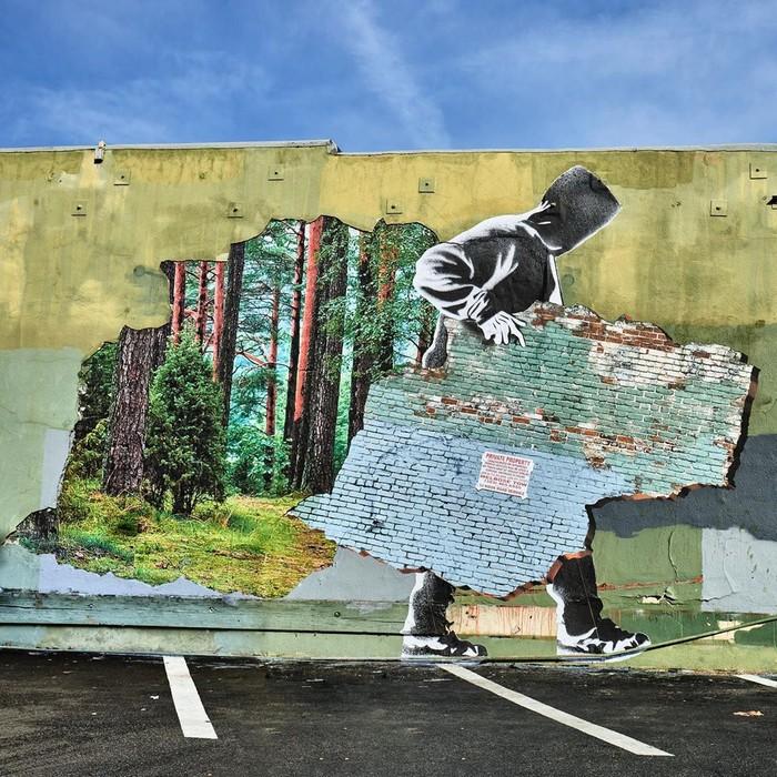 21 fotos de magníficas obras de arte de rua que mereciam ser fotografadas 20