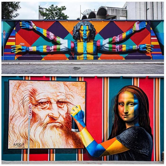 21 fotos de magníficas obras de arte de rua que mereciam ser fotografadas 22