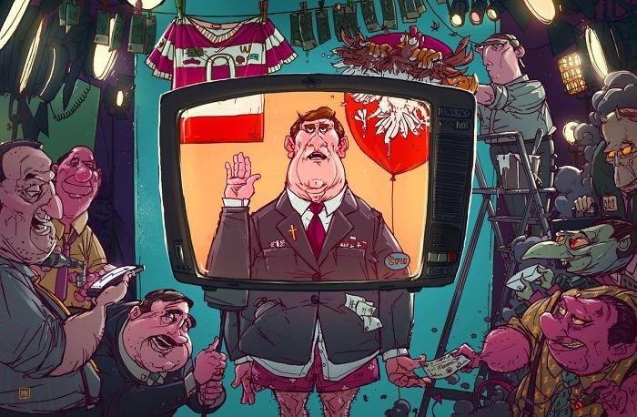 32 ilustrações deste artista que descrevem o lado sombrio da sociedade em que vivemos 7